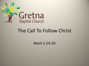 The Call To Follow Christ