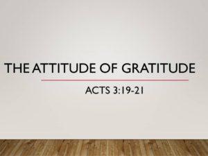 the-attitude-of-gratitude